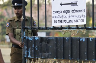 Election in Sri Lanka
